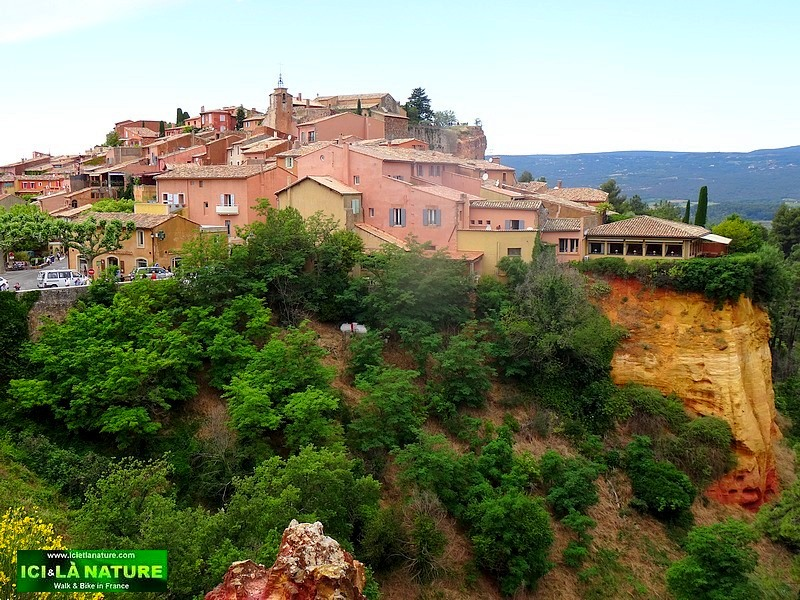 13-most beautiful village france roussillon