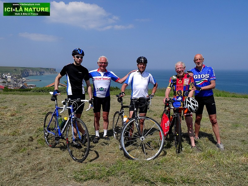 17-biking normandy beaches