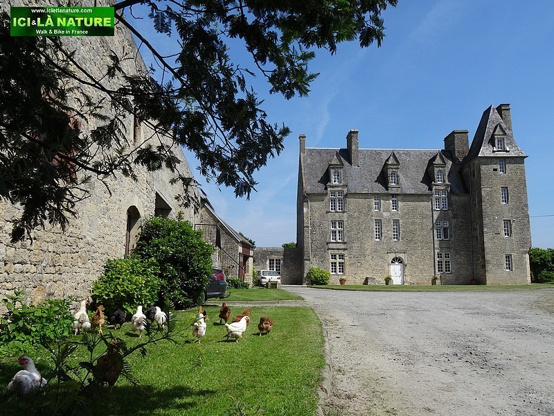 17- castle saint pierre du mont normandy
