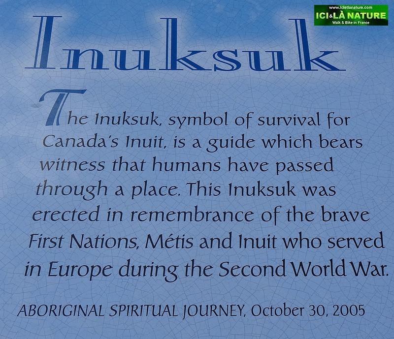18-inuksuk symbol canada