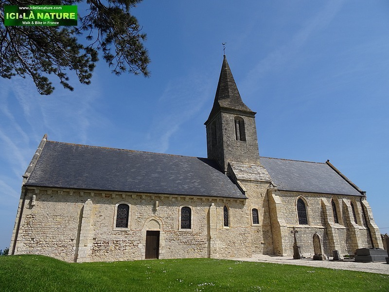 19--church saint pierre des monts normandy