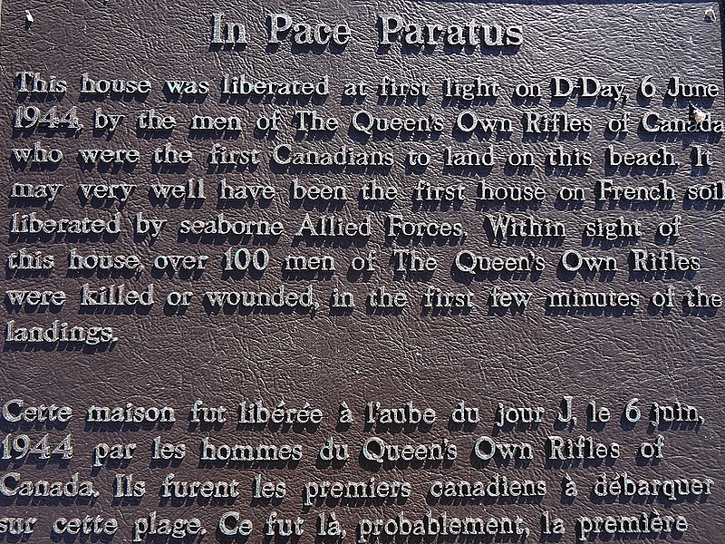 22-juno beach first place liberated by canadian troops