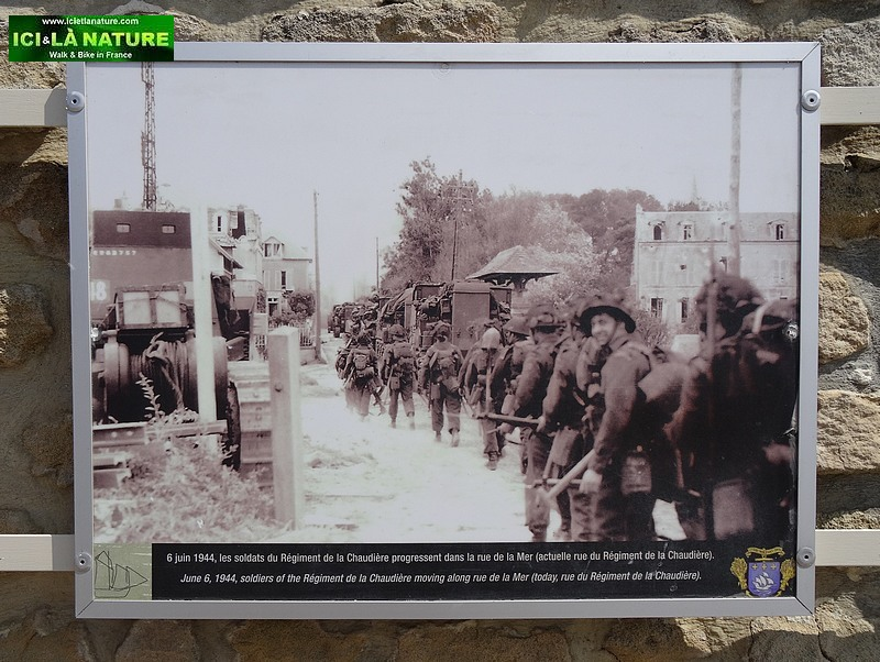 24-juno beach 1944 regiment de la chaudiere