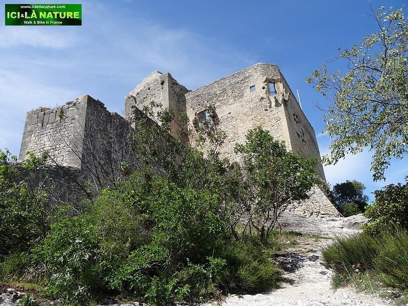 24-old castle provence vaison la romaine