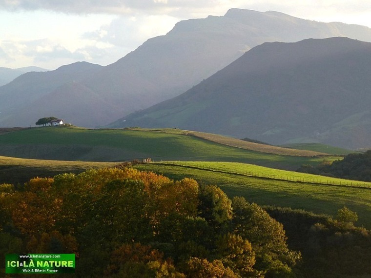pictures france mountain basque country landscape