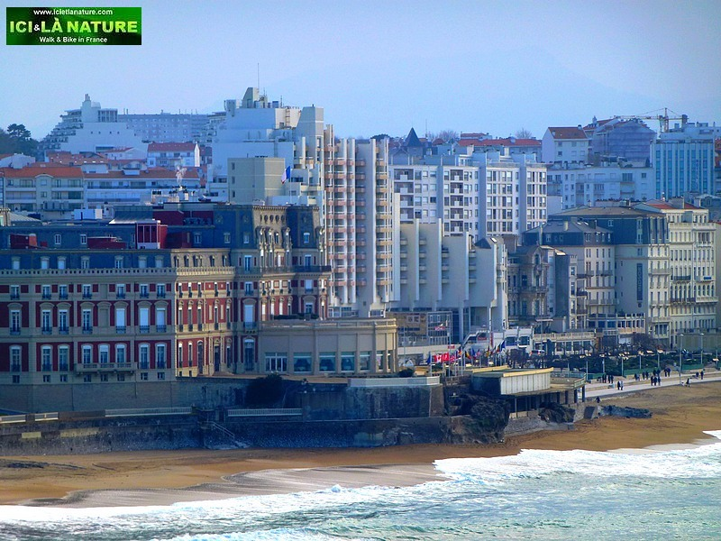 photo biarritz beach