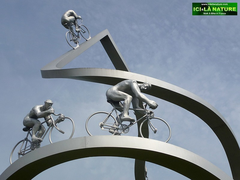 Pyrenees Mountains An Original And Monumental Sculpture