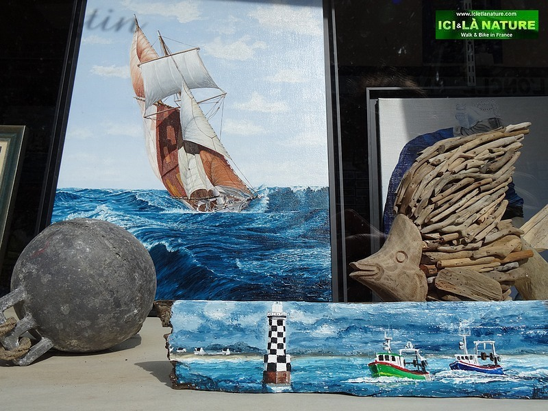 17-marine paintings brittany france