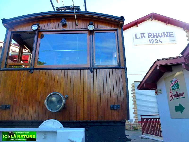 60-la rhune railway station basque country
