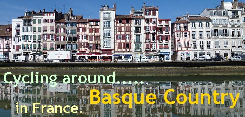 Biking around Basque country in france