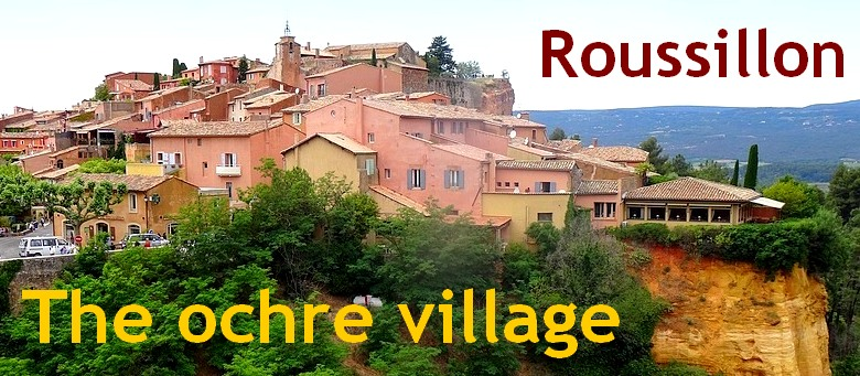 the ochre village france roussillon