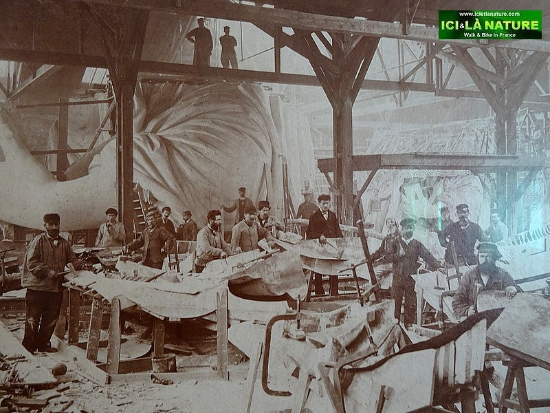 58-statue of liberty fabrication process france