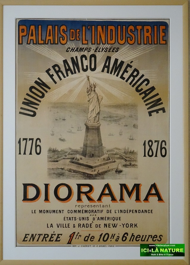 France alsace colmar the native city of bartholdi sculptor of the statue of liberty 60 for Poster revolution france