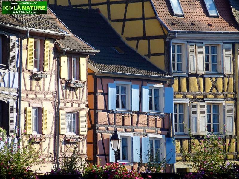 82-rues de colmar alsatian houses
