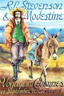 17-stevenson and donkey modestine