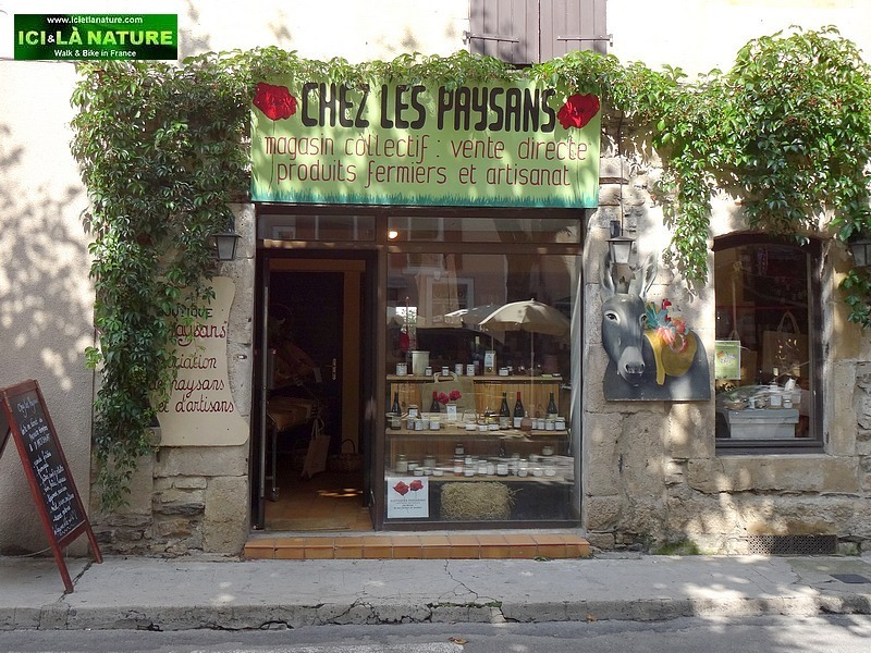 64-FARMERS SHOP SOUTHERN FRANCE