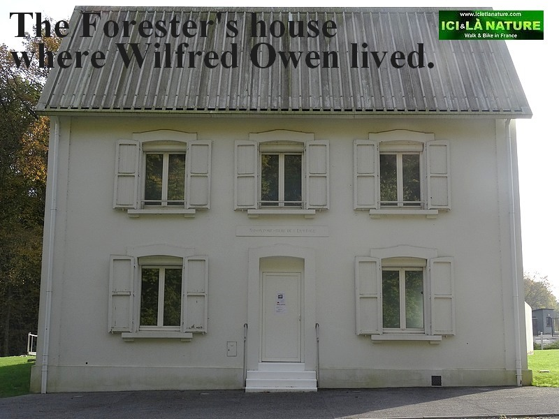 72-wilfred owen letter mother forester's house northern france