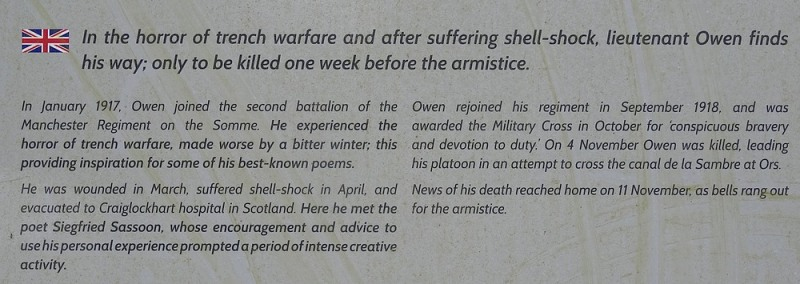 77-wilfred owen in the horror of trench warfare