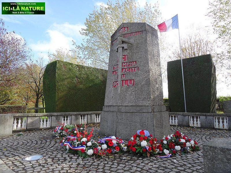 87-cessez_le-feu 7 novembre 1918 la pierre d' Haudroy