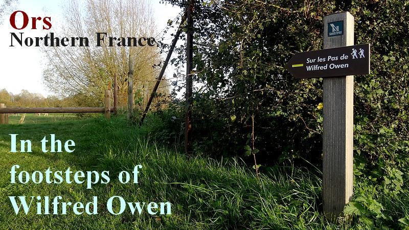 sur les traces de Wilfred Owen 1918 dans le nord de la france