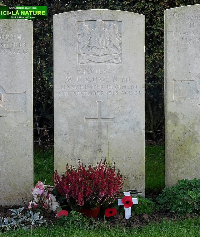 wilfred owen grave final resting france