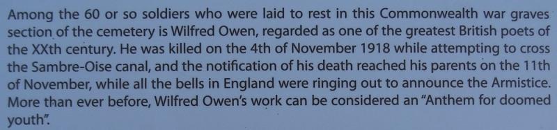 Wilfred owen grave