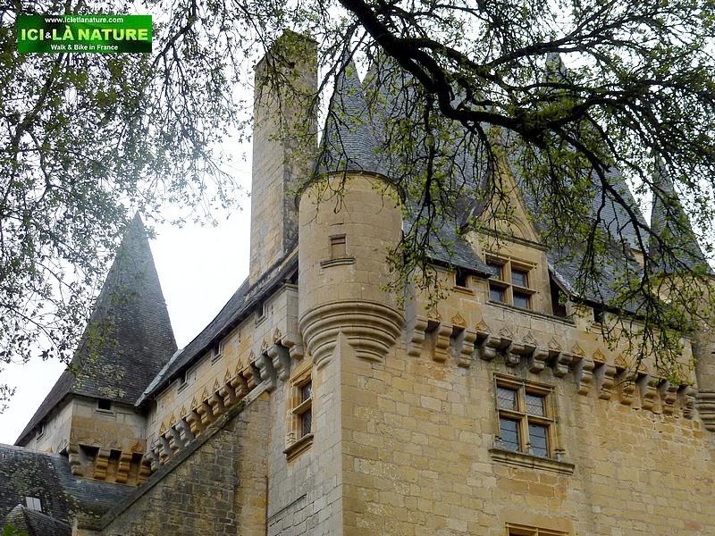 12-castle black perigord france