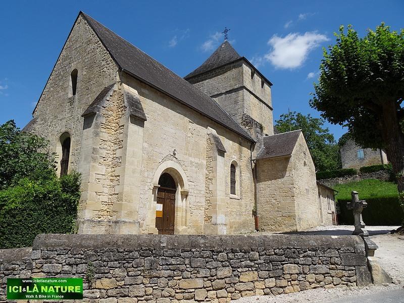 58-old church village france perigord