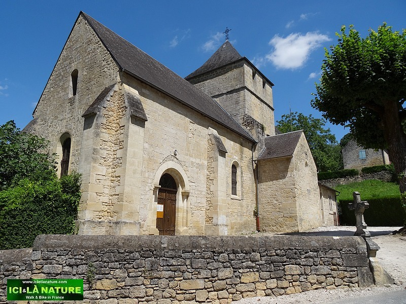 58-old church village france perigord