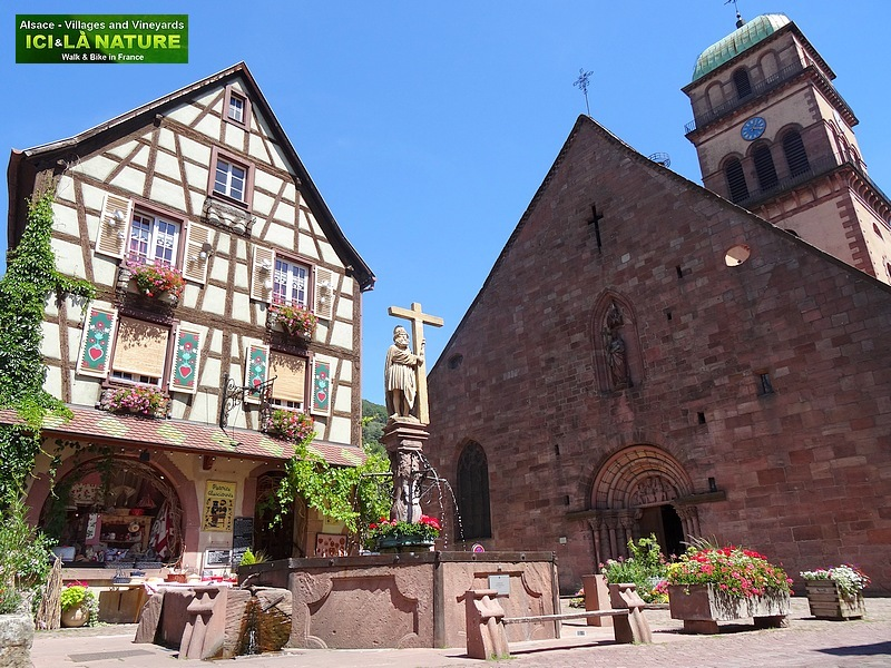 10- walking cycling holidays alsace france