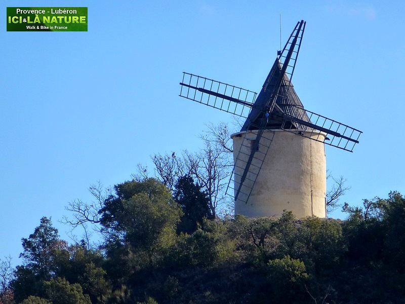 28- wind mill provence