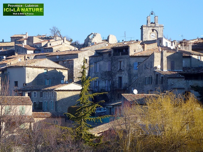 36-selfguided cycling tour in provence