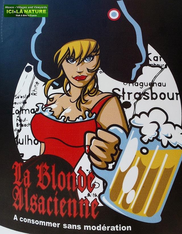 56- bière la blonde alsacienne