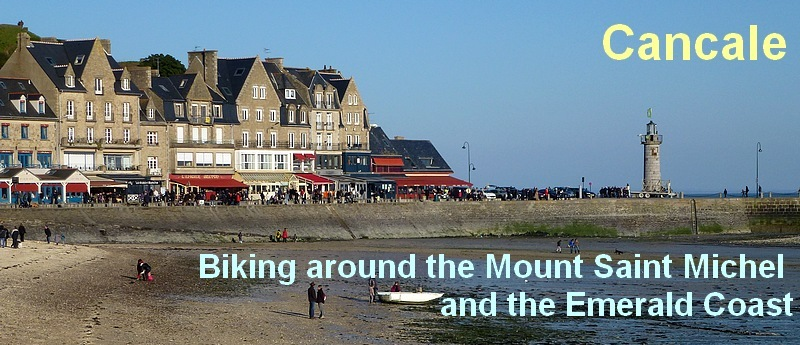 Biking around the Mount Saint Michel and the Emerald Coast.