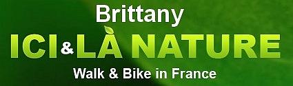 walking biking brittany france