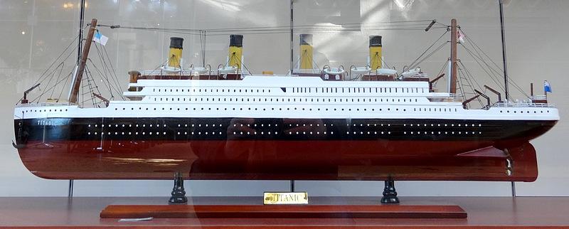 01- maquette du titanic