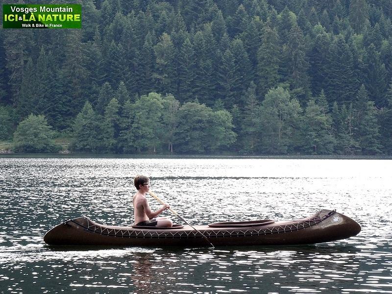 06-canoe lake Vosges