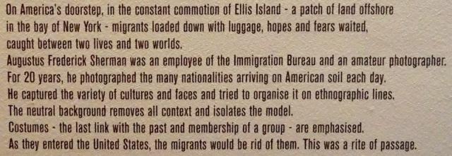 20 - immigration bureau augustus frederick Shermanellis island