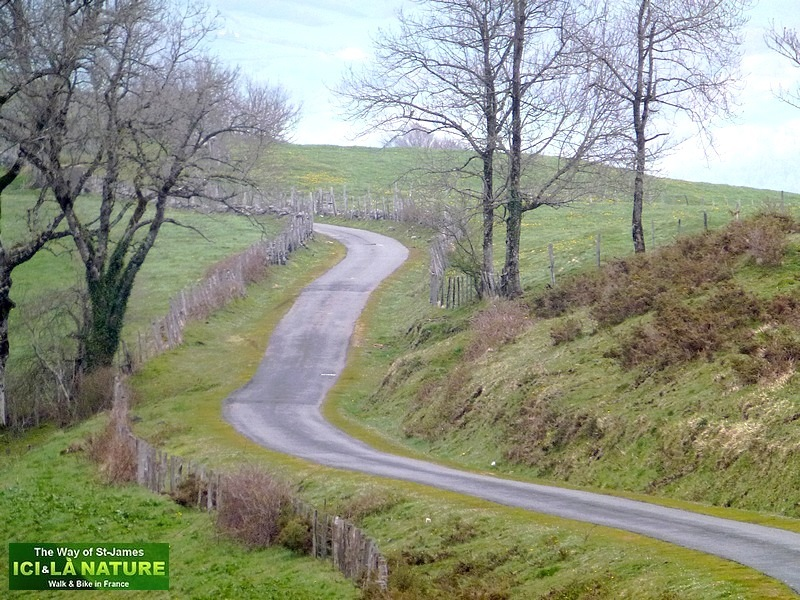 30-mountain road santiago compostella