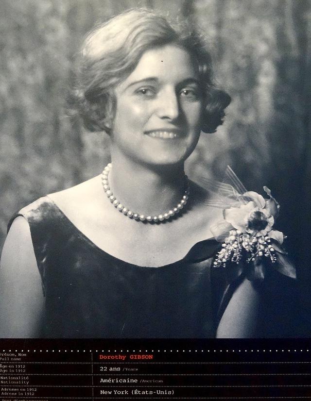 38- titanic survivor dorothy gibson