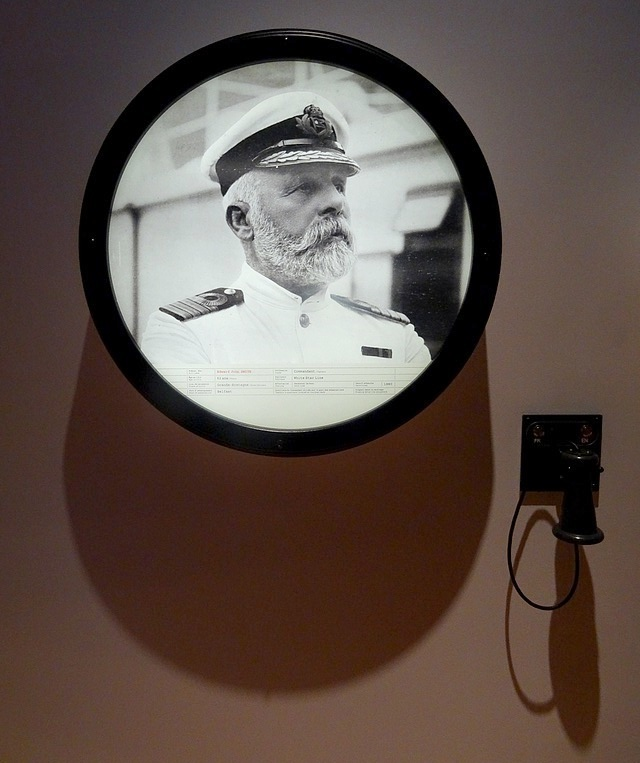 47-who was Titanic's captain 1912