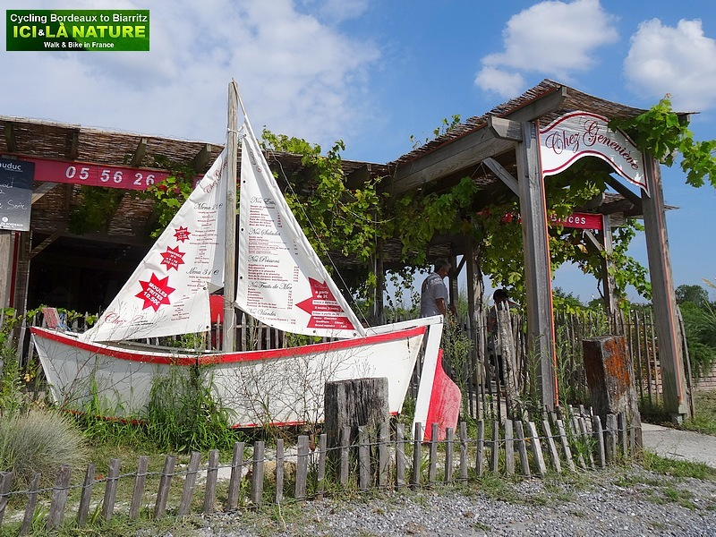 52-restaurant chez geneviève port audenge arcachon