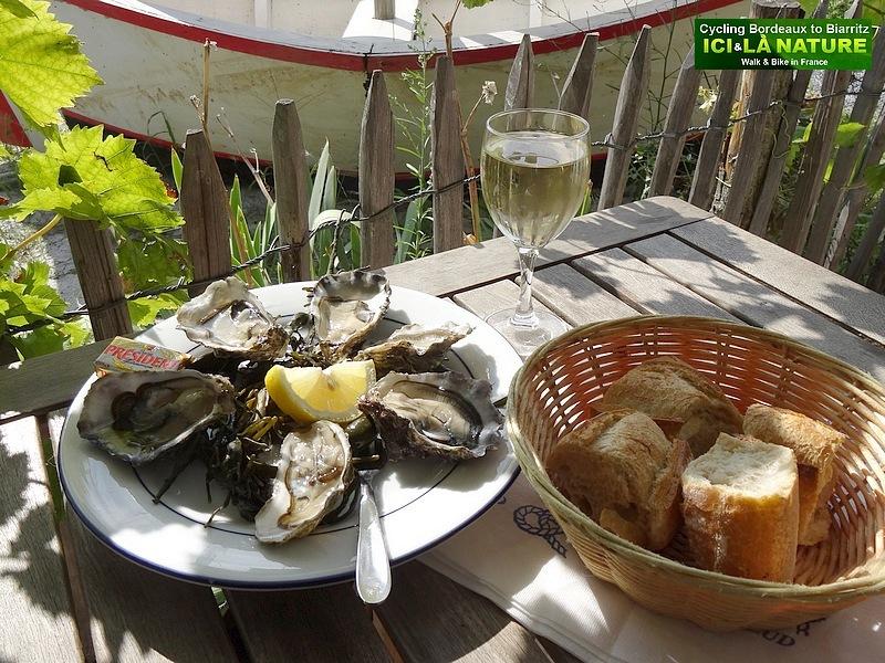 53-restaurant chez geneviève port audenge arcachon