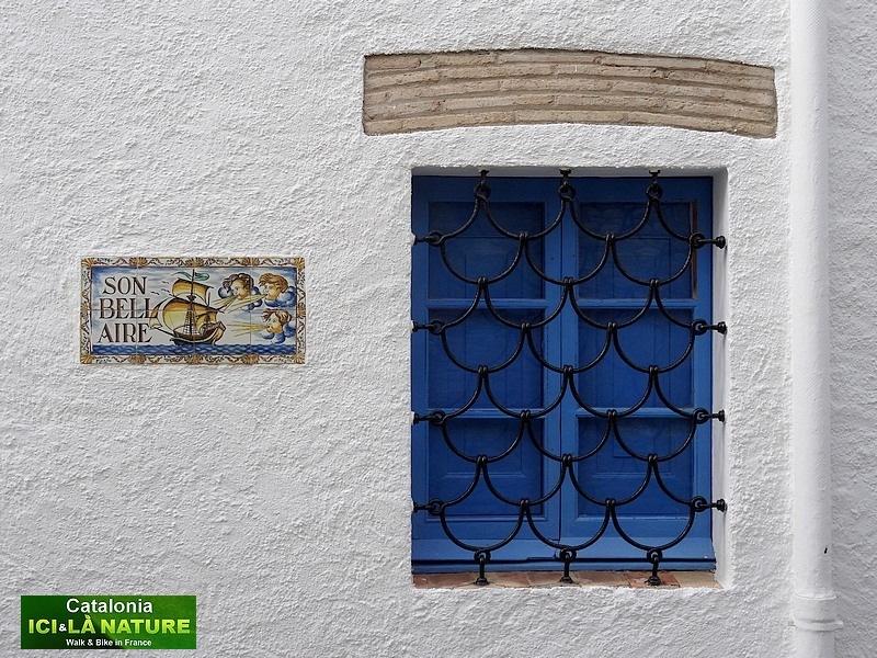 58-blue window in spain
