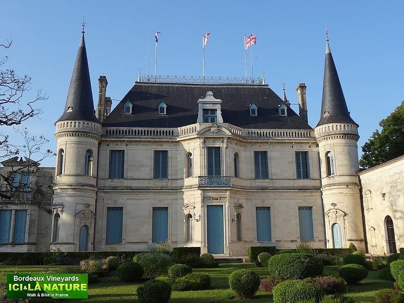 France bordeaux wines ch teau margaux ch teau palmer for Chateau margaux