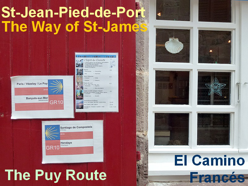 70- camino frances way st jean pied de port