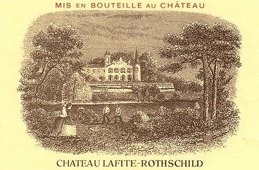 74-chateau lafite rothschild grand vin pauillac