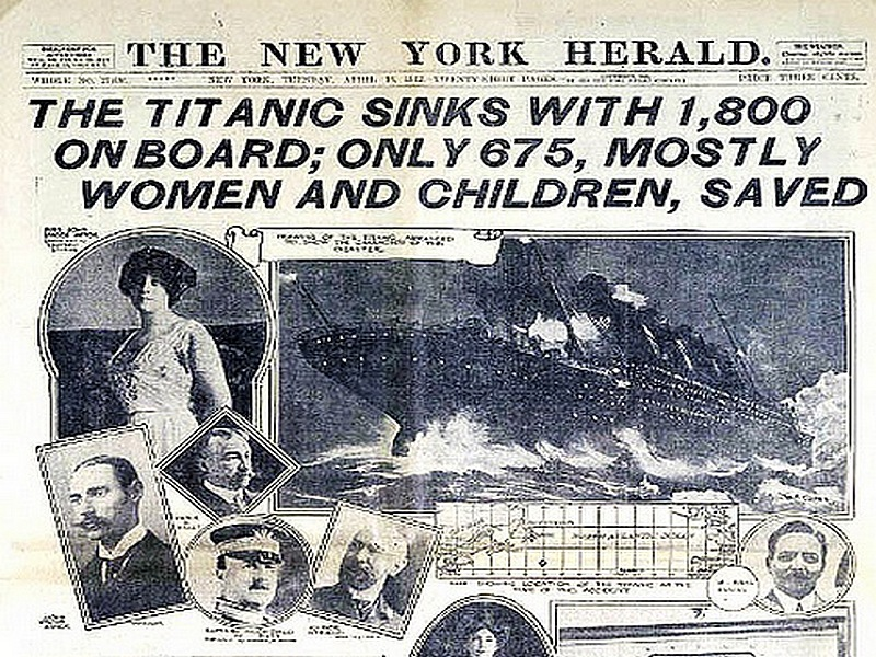 80- titanic new york herald april 1912