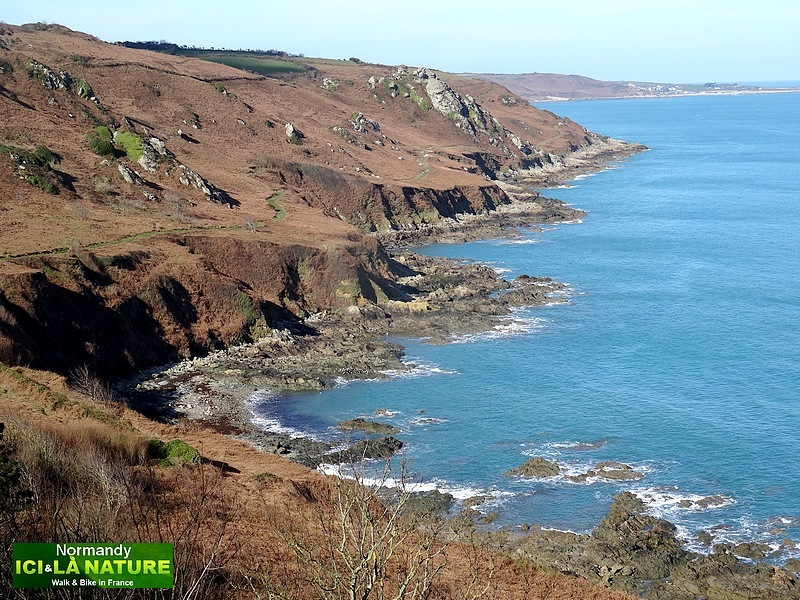 82-walking normandy coast cotentin