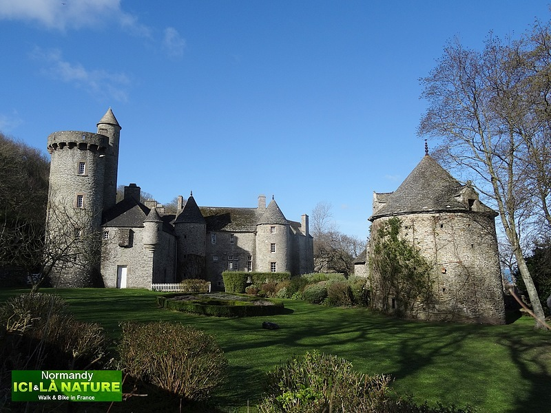 88-old castle in normandy cotentin
